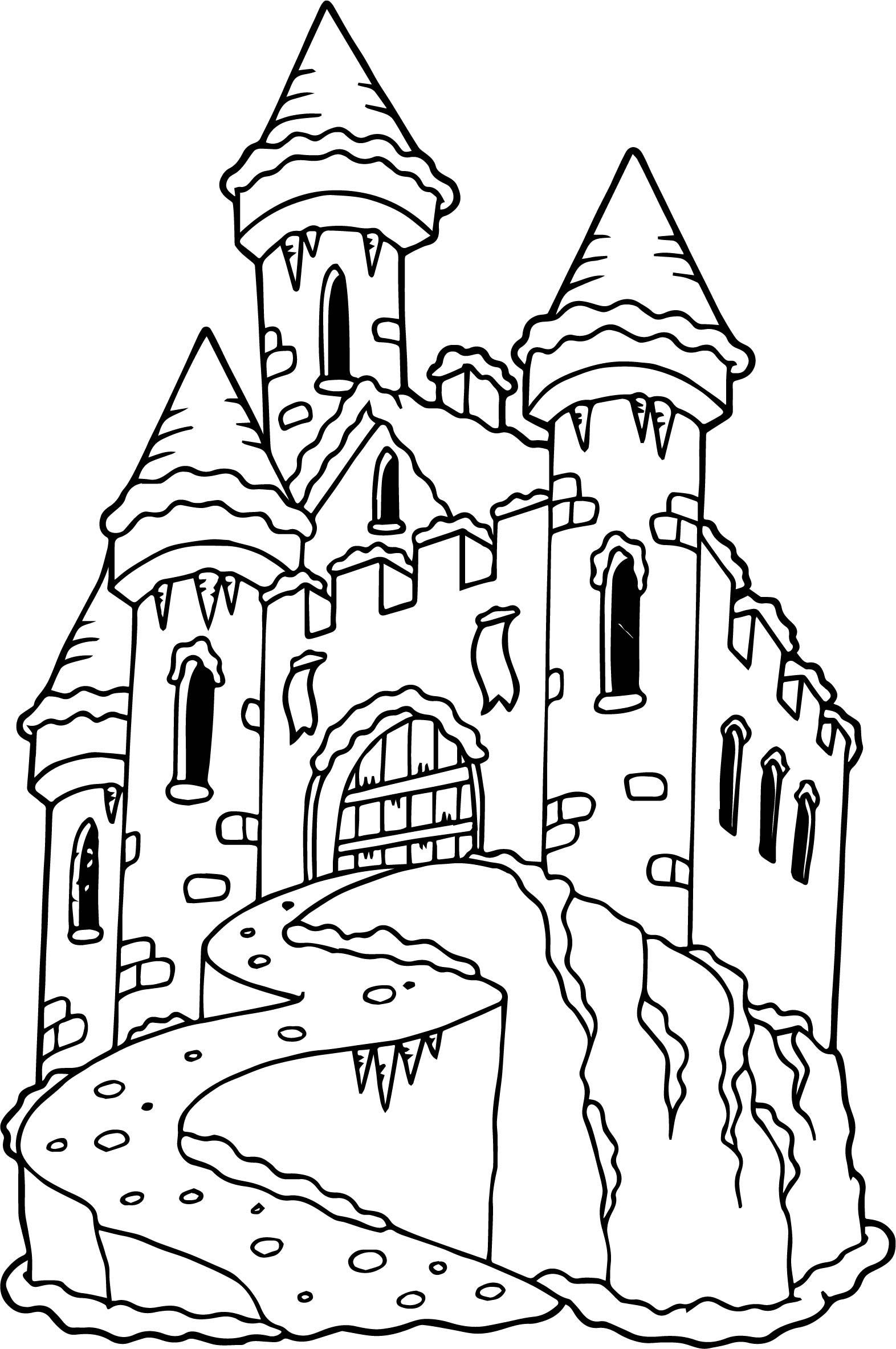 Lego Castle Coloring Pages At Getcolorings