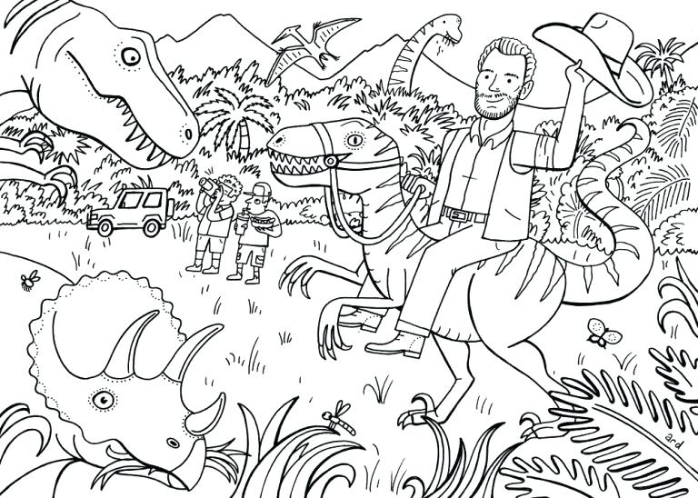Lego Jurassic Park Coloring Pages at GetColorings.com