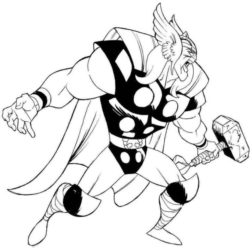 lego thor coloring pages at getcolorings  free