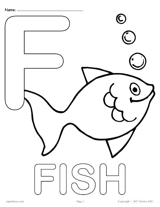 Letter F Coloring Pages For Preschoolers at GetColorings