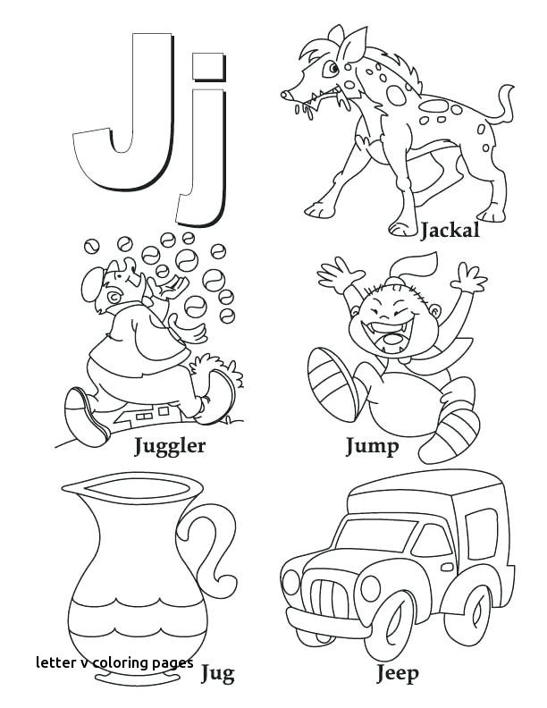 Letter V Coloring Pages Preschool at GetColorings.com