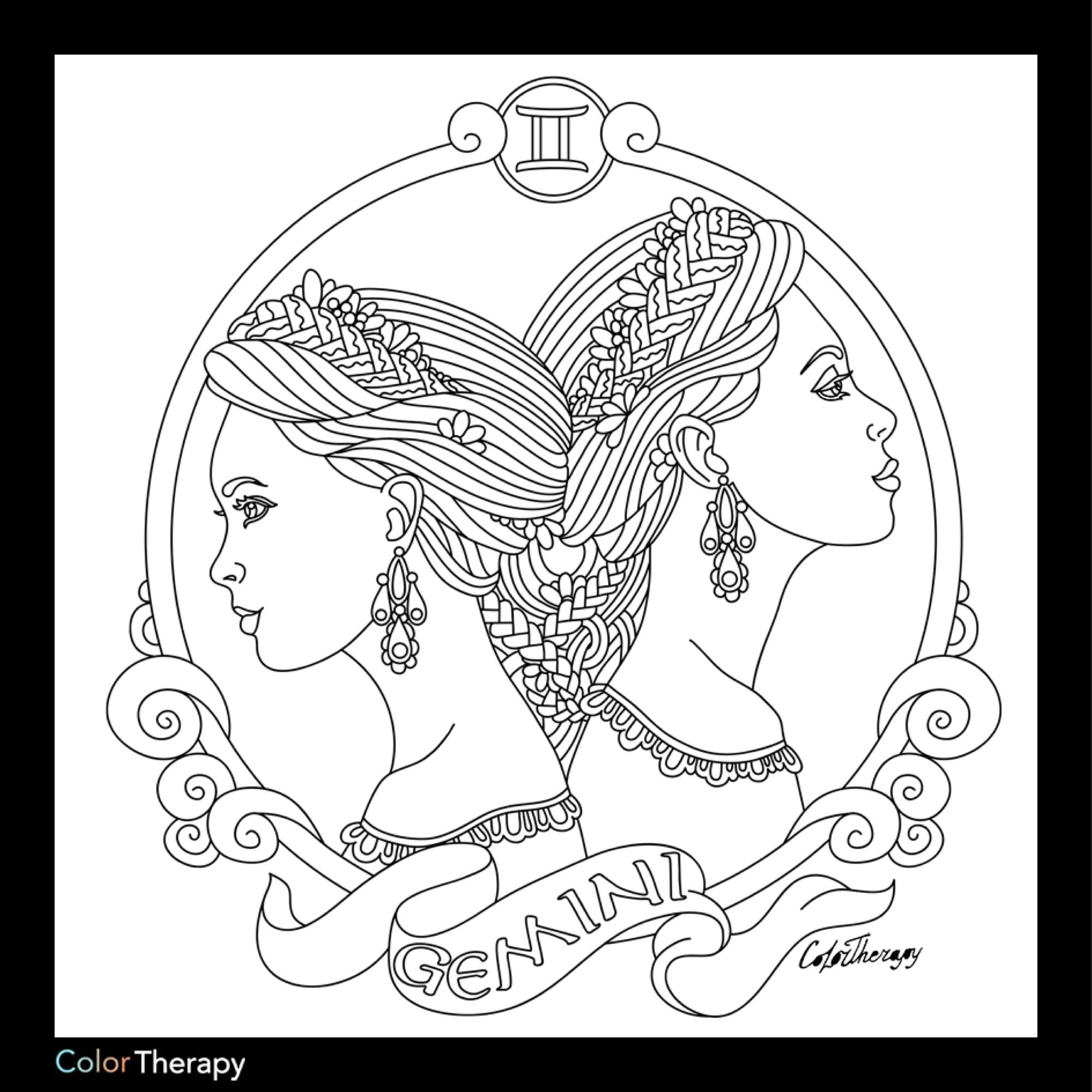 Libra Coloring Pages At Getcolorings
