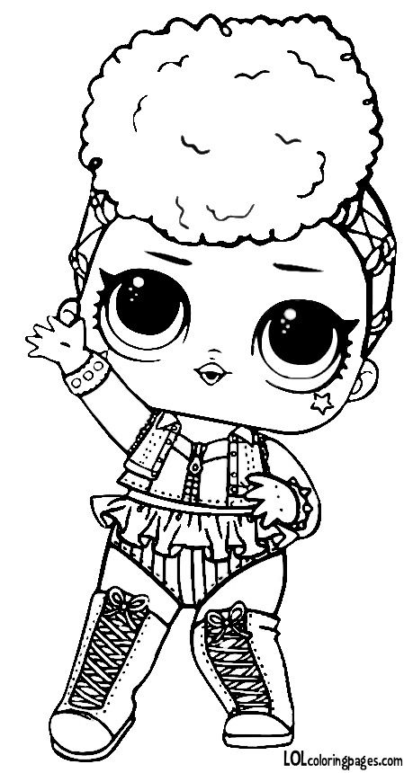 Lol Dolls Coloring Pages at GetColorings.com | Free