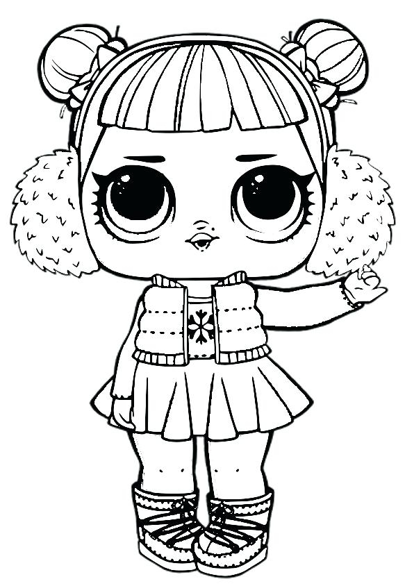 Lol Doll Images To Color