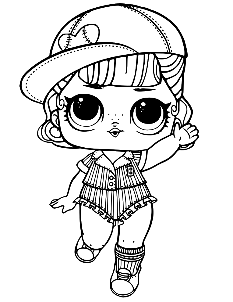 image about Lol Dolls Printable Coloring Pages titled 20+ Vrq Tcoloring Webpages Lol Dolls Options and Options