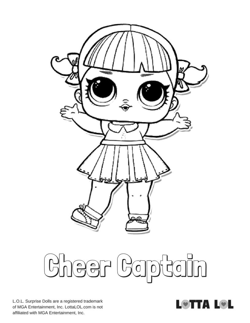 Lol Surprise Doll Coloring Pages at GetColorings.com
