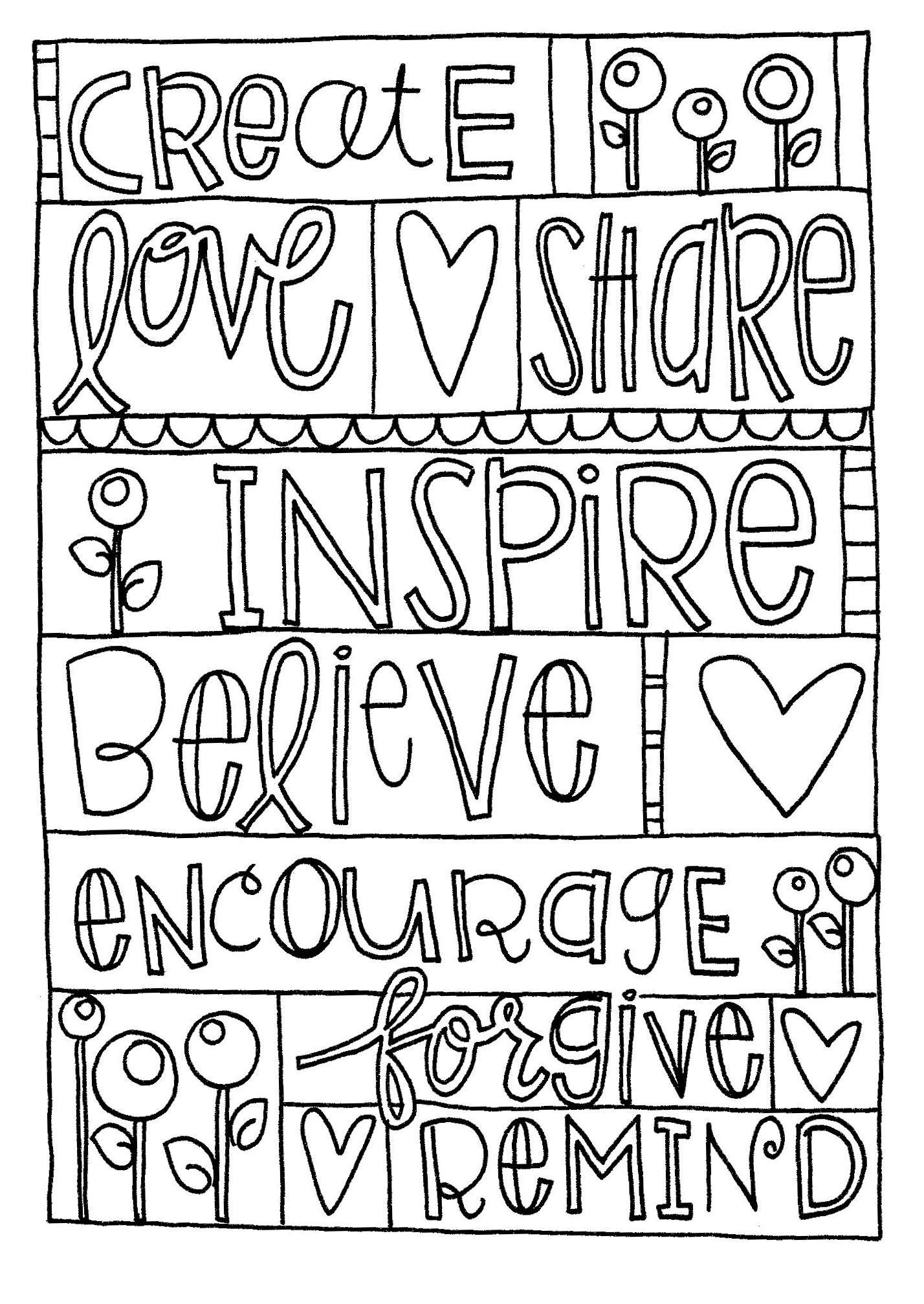 Love You Mom Coloring Pages At Getcolorings