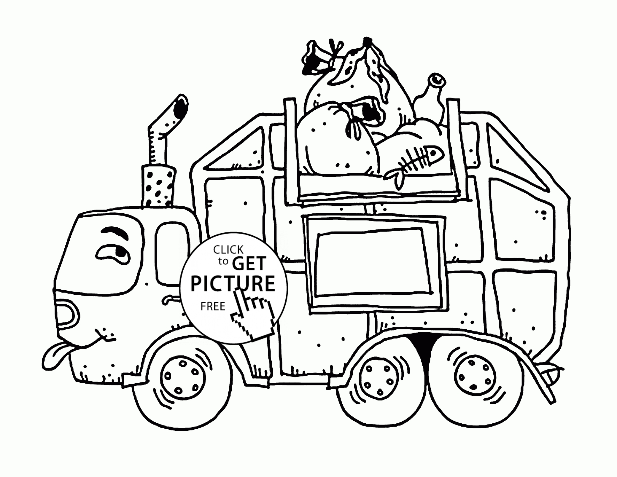 Worksheet Mail Truck