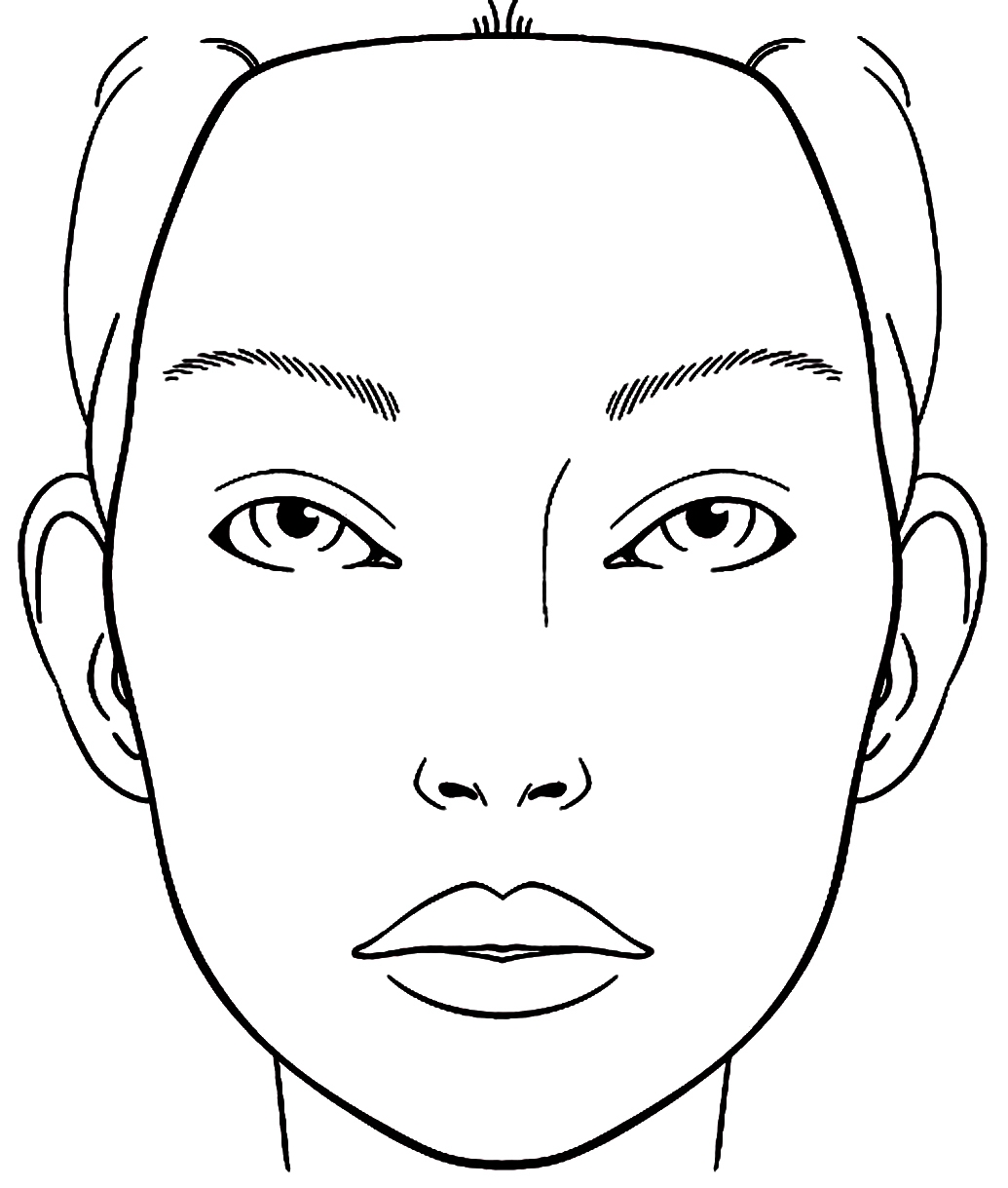 list of makeup coloring face pict best pictures