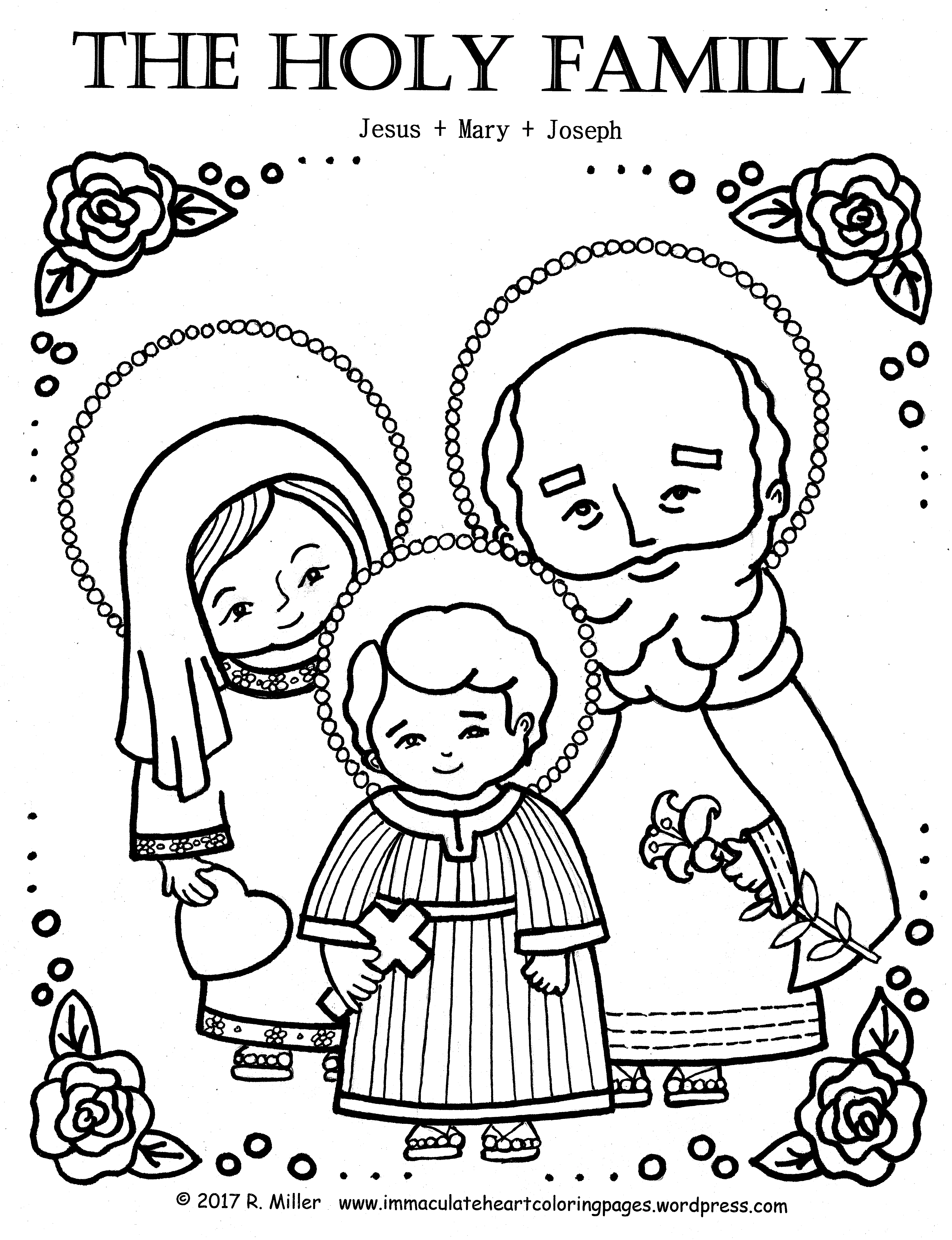 Mary And Joseph Coloring Pages At Getcolorings