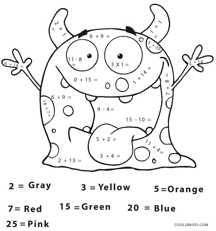 3rd Grade Math Multiplication Coloring Sheets Coloring Pages