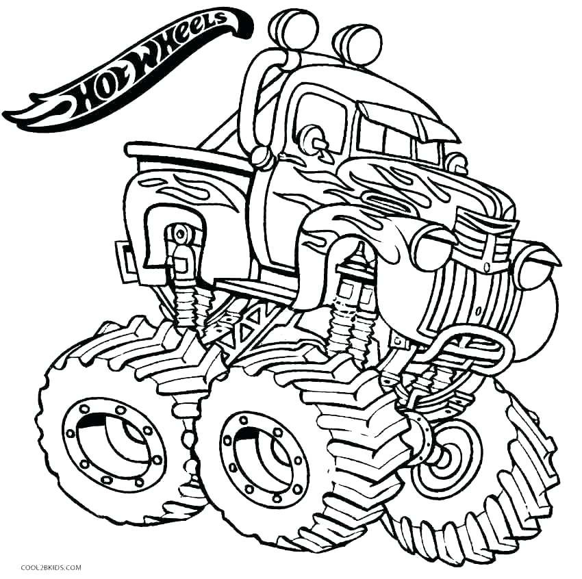 Max D Monster Truck Coloring Pages at GetColorings.com