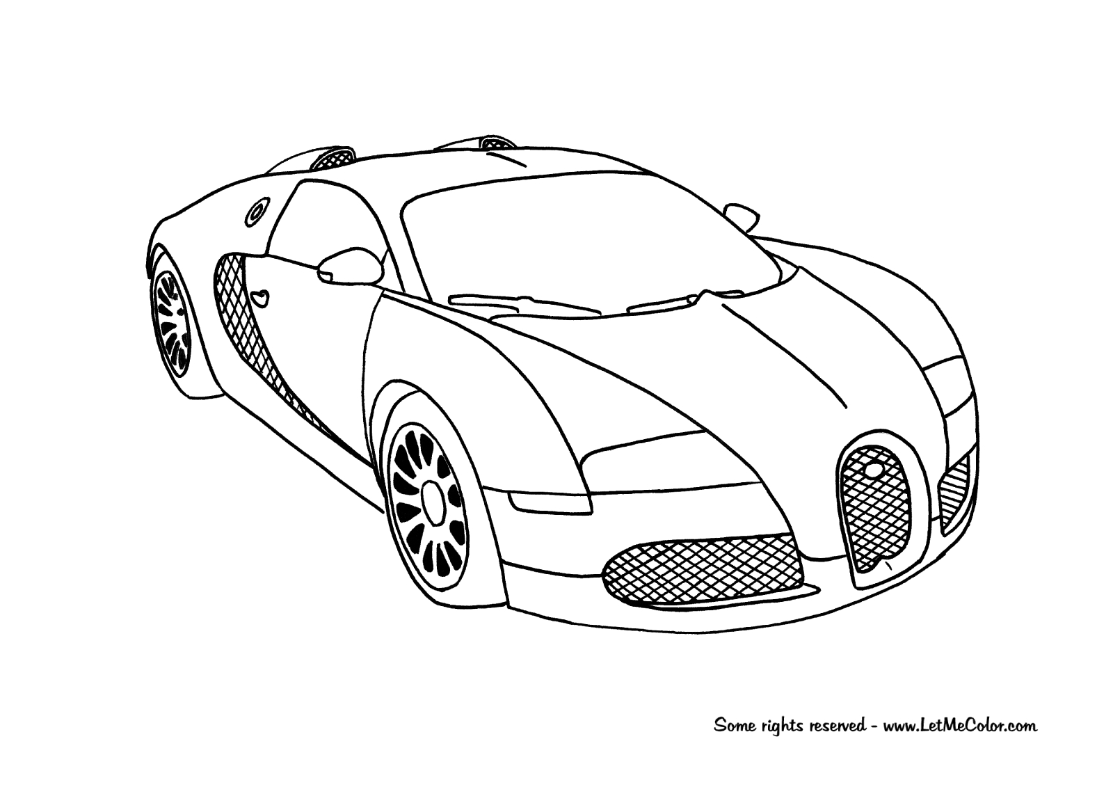 Mclaren Coloring Pages At Getcolorings Com Auto Electrical Wiring
