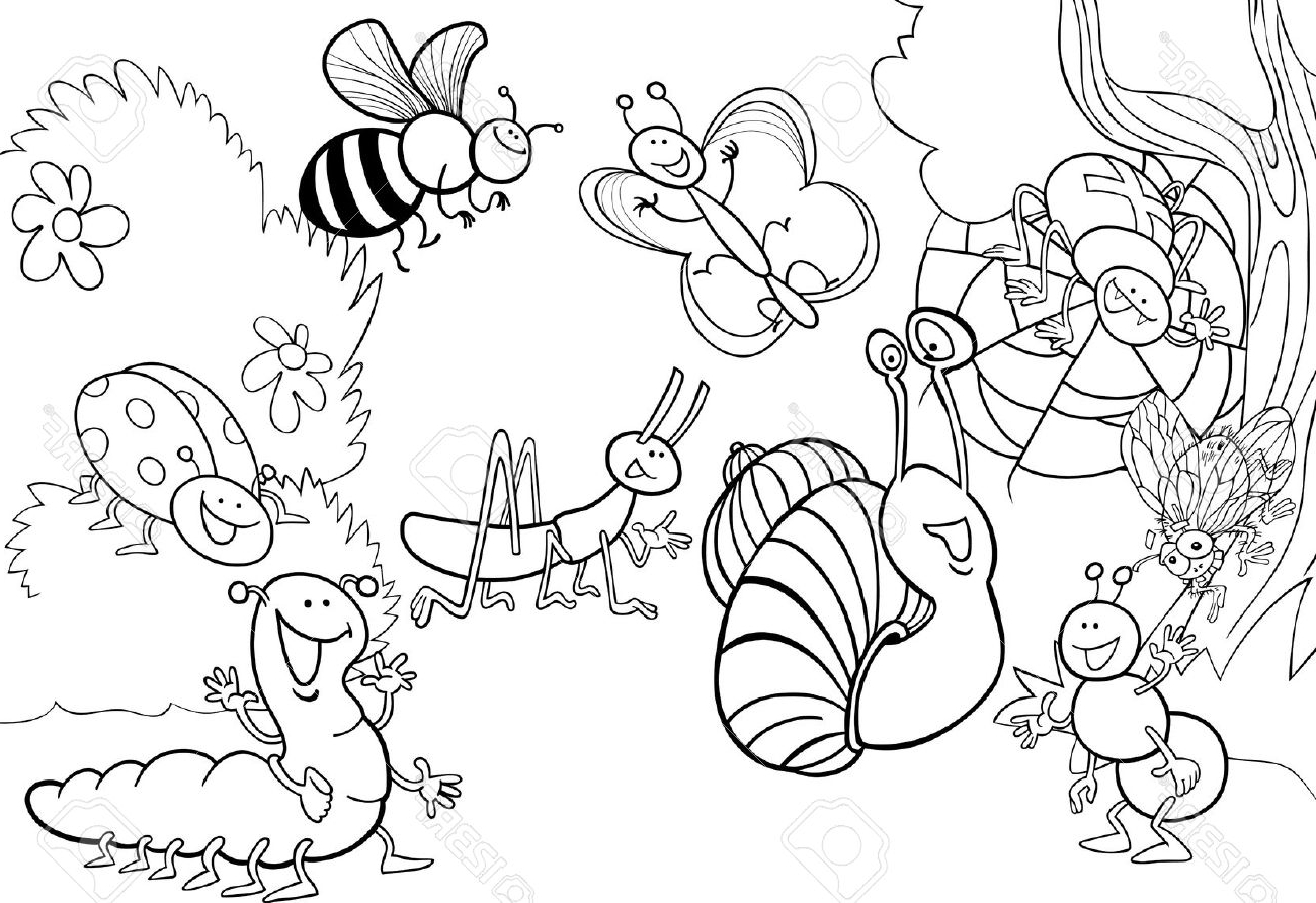 Meadow Coloring Page At Getcolorings