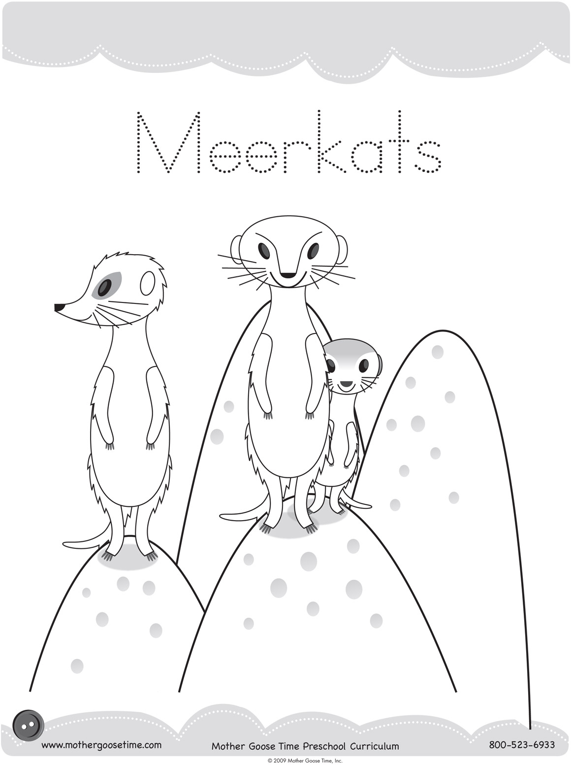 Meerkat Coloring Page At Getcolorings