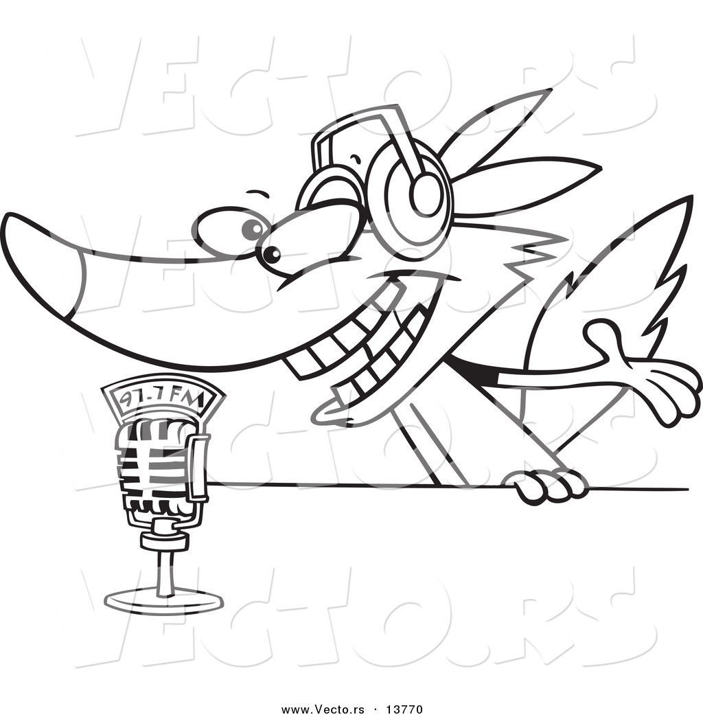 Microphone Coloring Page At Getcolorings
