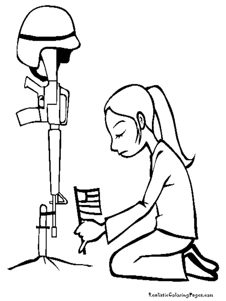 Military Thank You Coloring Pages at GetColorings.com