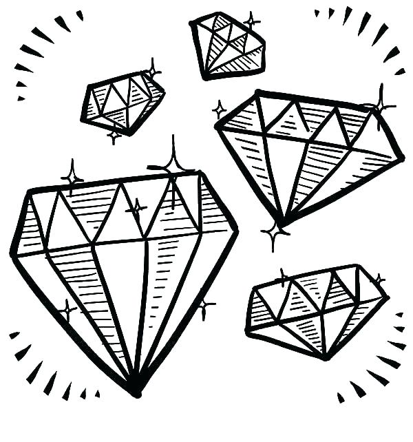 Minecraft Diamond Coloring Pages at GetColorings.com