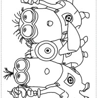 Minion Birthday Coloring Pages at GetColorings.com   Free ...
