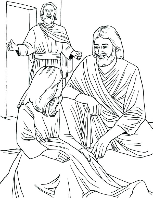 Miracles Of Jesus Coloring Pages at GetColorings.com