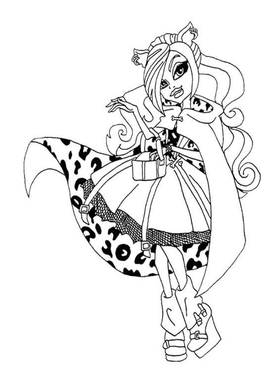 Monster High 13 Wishes Coloring Pages at GetColorings.com