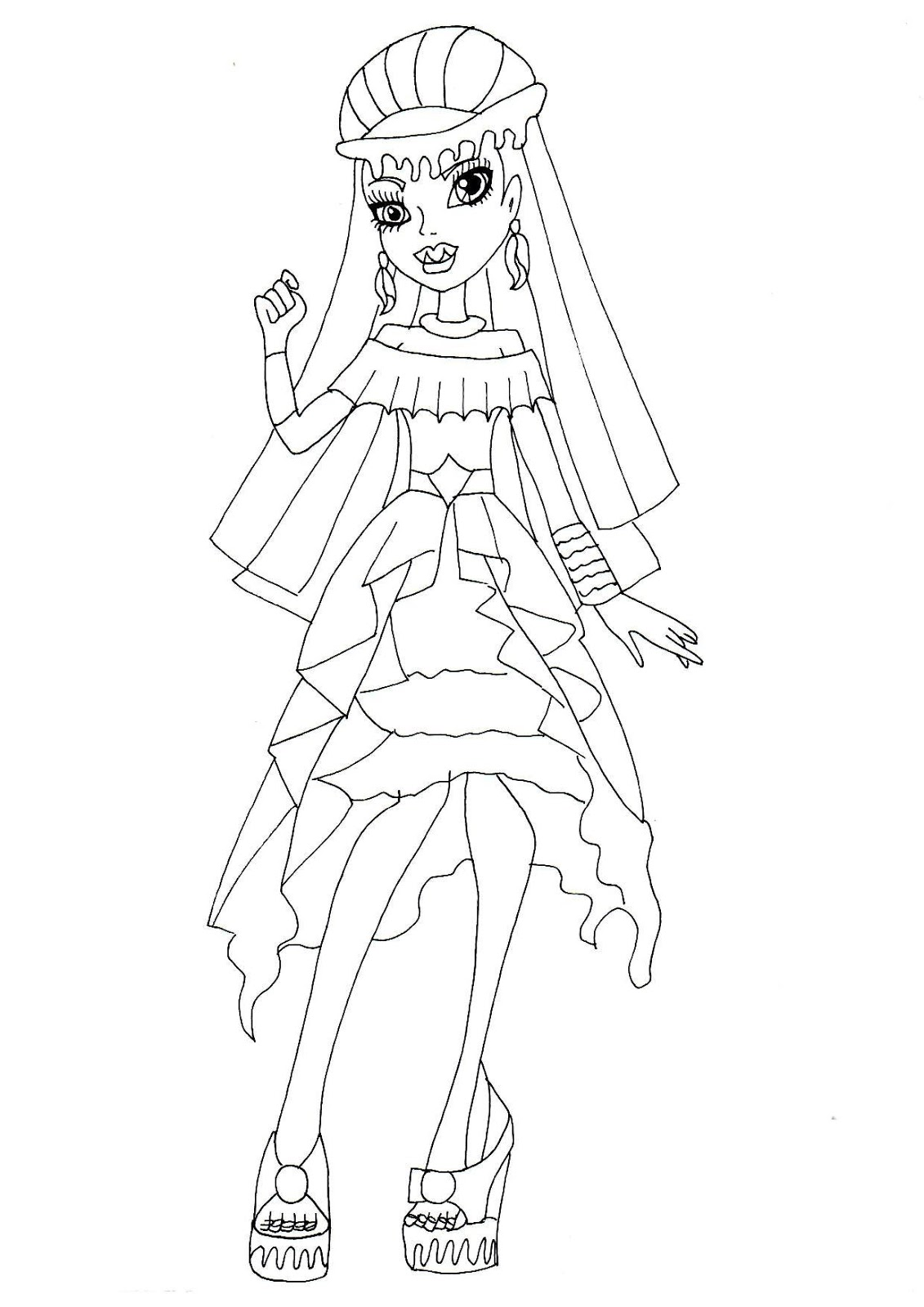 Monster High 13 Wishes Coloring Pages At Getcolorings