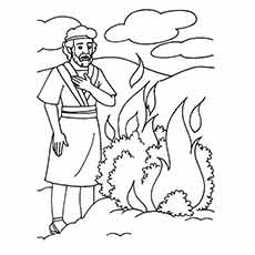 Moses And Pharaoh Coloring Pages at GetColorings.com