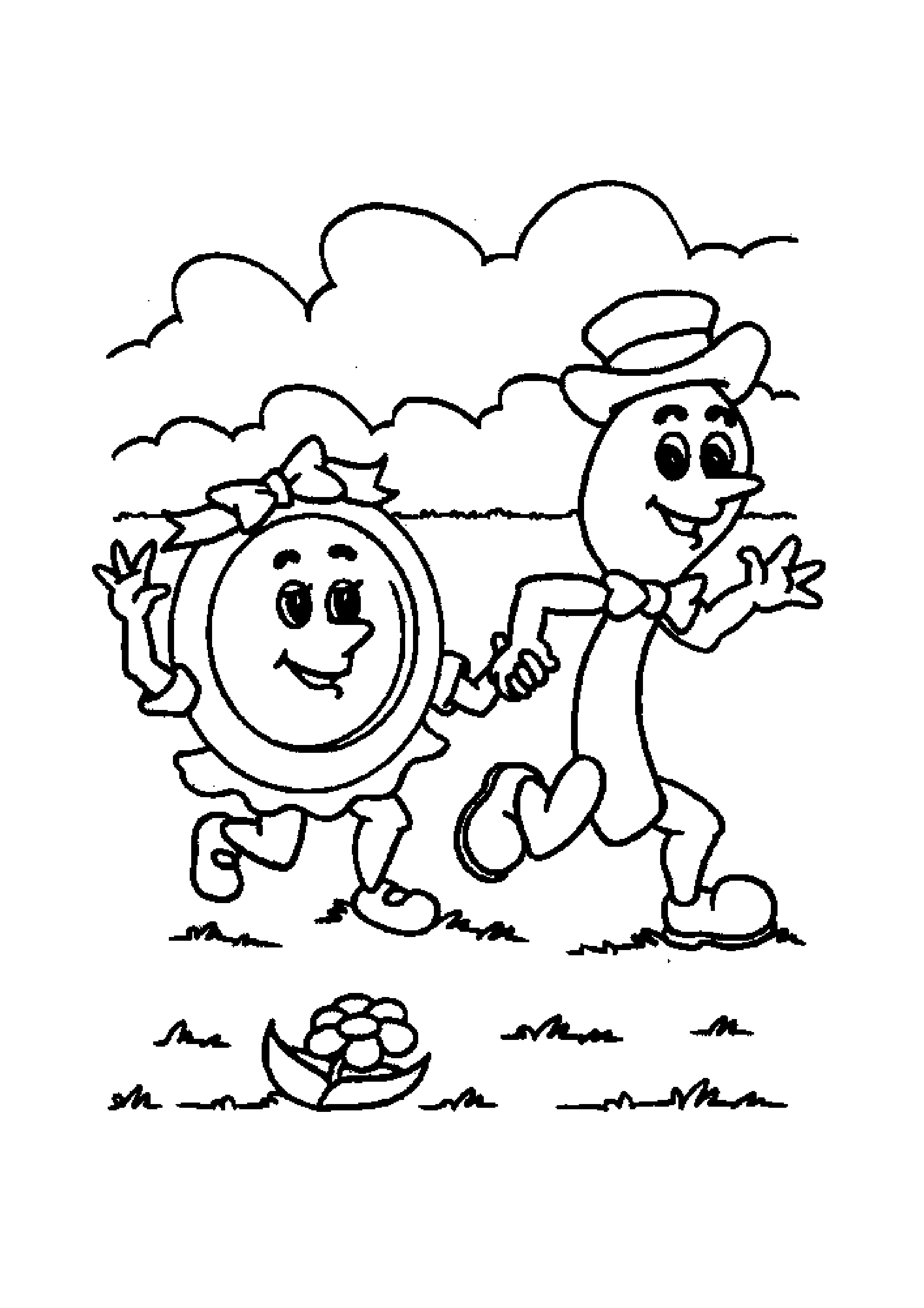 Mother Goose Nursery Rhymes Coloring Pages At Getcolorings
