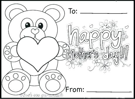 Mothers Day Coloring Pages For Preschool at GetColorings