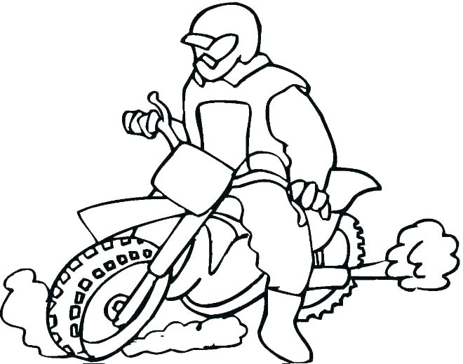 Motorcycle Coloring Pages Harley Davidson at GetColorings