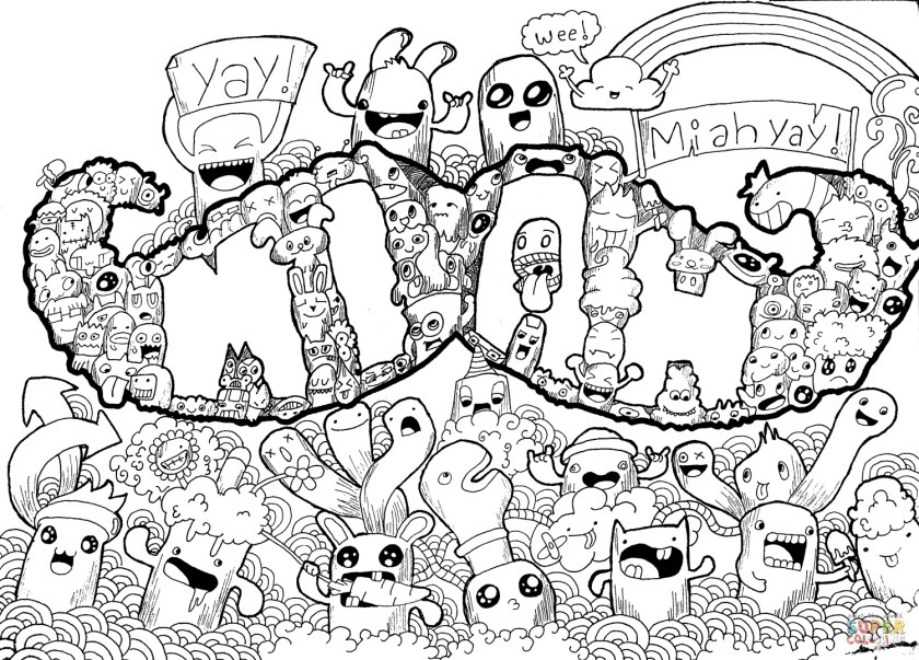 moustache coloring page at getcolorings  free