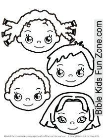 Multicultural Children Coloring Pages at GetColorings.com