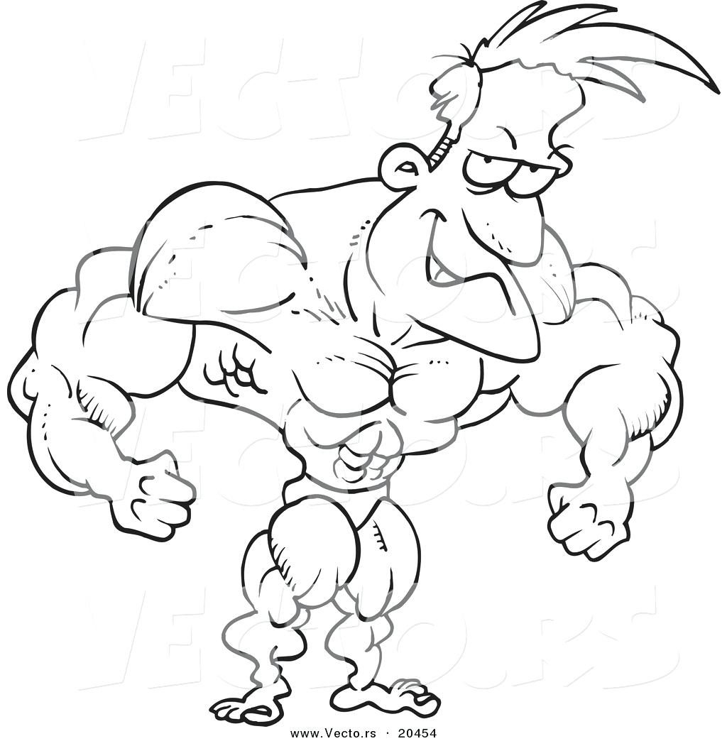Muscle Coloring Pages At Getcolorings