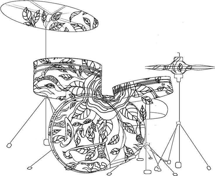 Musical Instruments Coloring Pages at GetColorings.com