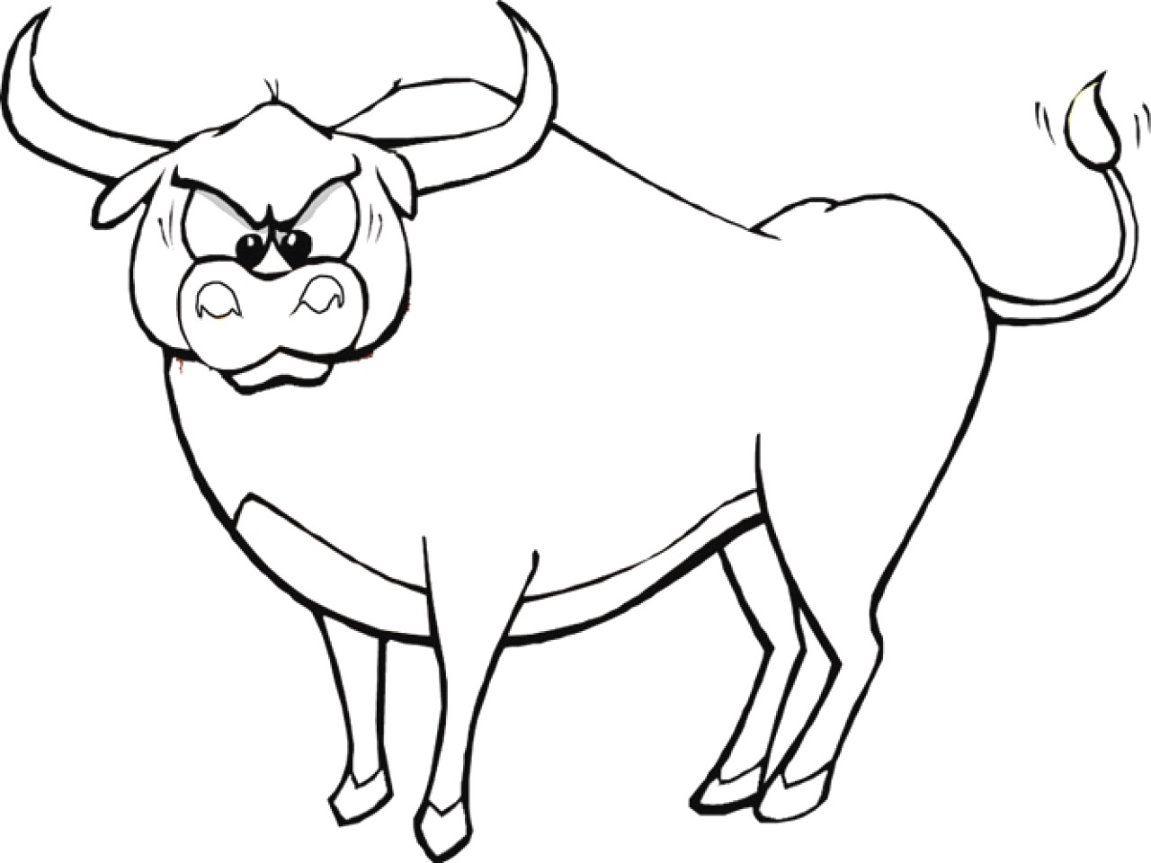 Musk Ox Coloring Page At Getcolorings