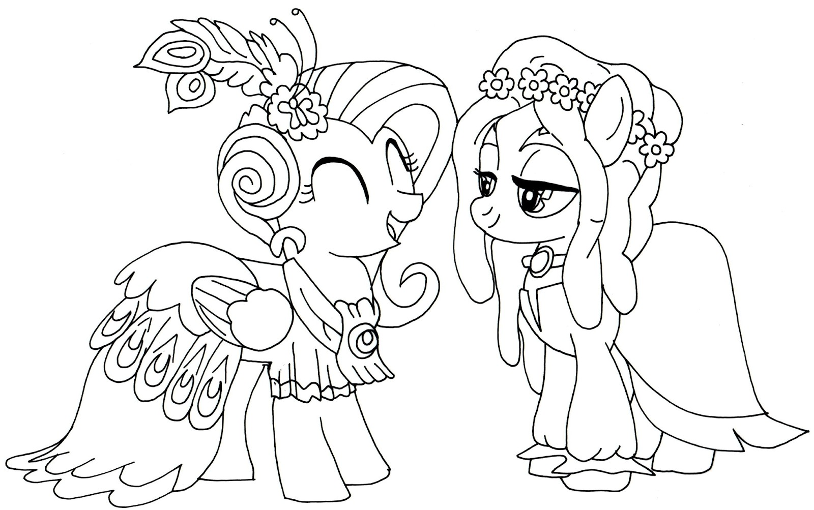 My Little Pony Christmas Coloring Pages At Getcolorings