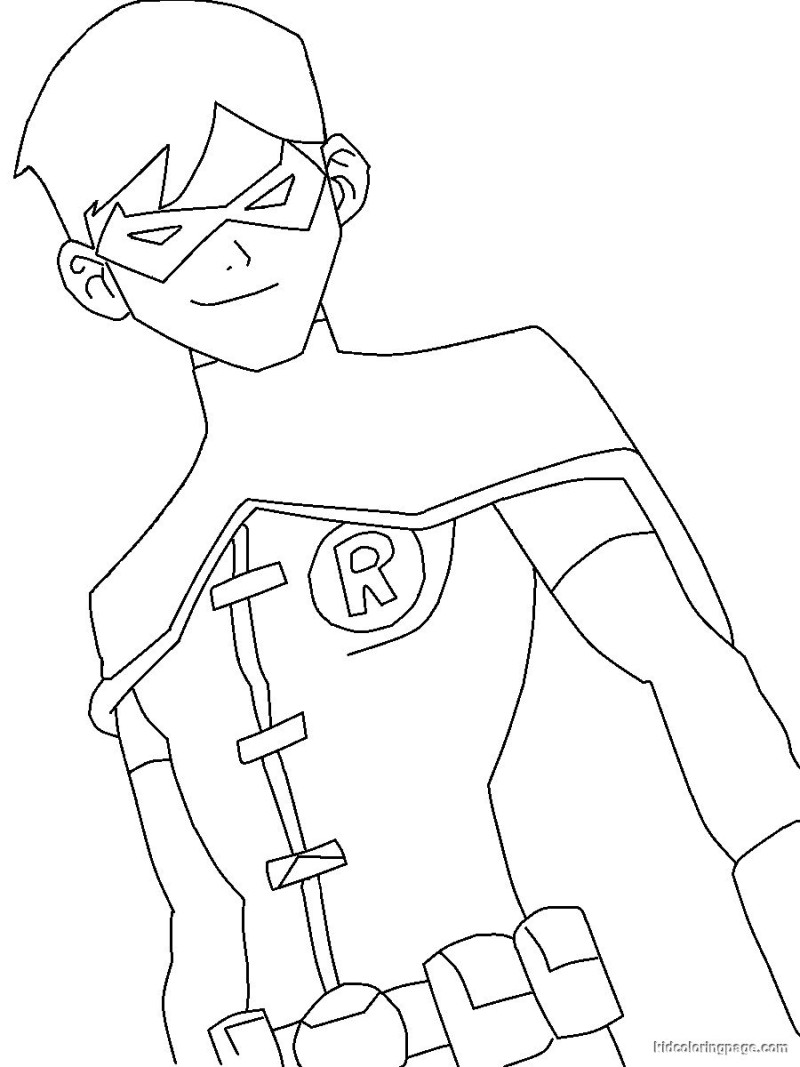 nightwing coloring pages at getcolorings  free