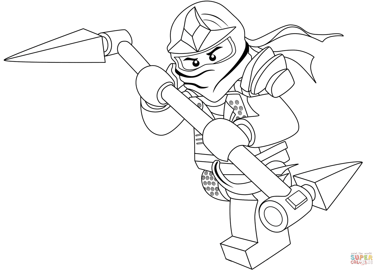 Ninjago Morro Coloring Pages At Getcolorings