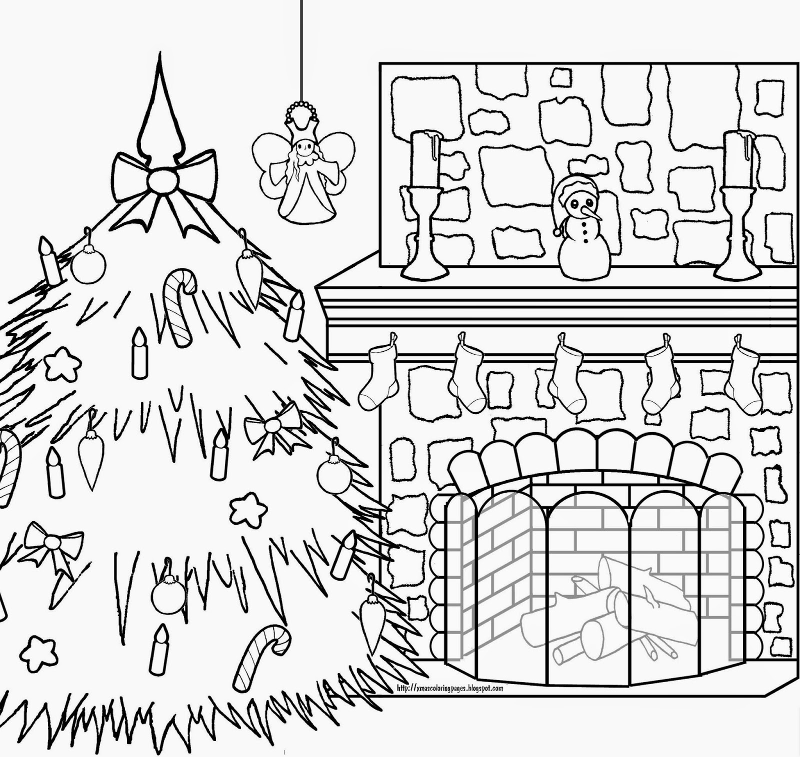 North Pole Coloring Pages At Getcolorings