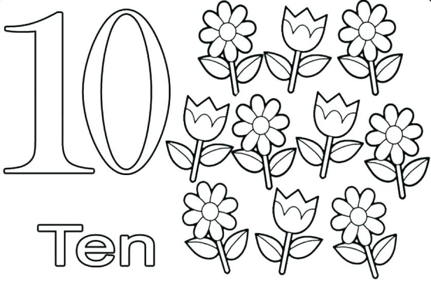 number 9 coloring page at getcolorings  free