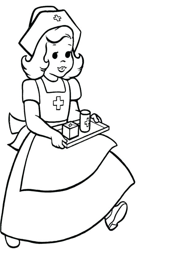 Nurse Coloring Pages For Preschool at GetColorings.com