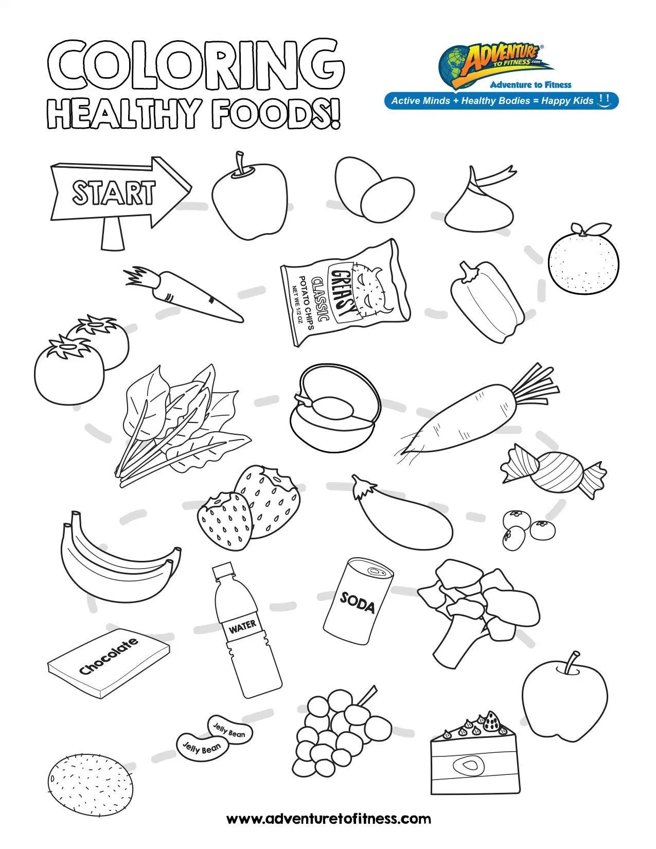 Nutrition Coloring Pages At Getcolorings