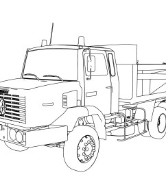 3333x2500 fresh 18 wheeler truck coloring pages vehicle coloring page [ 3333 x 2500 Pixel ]