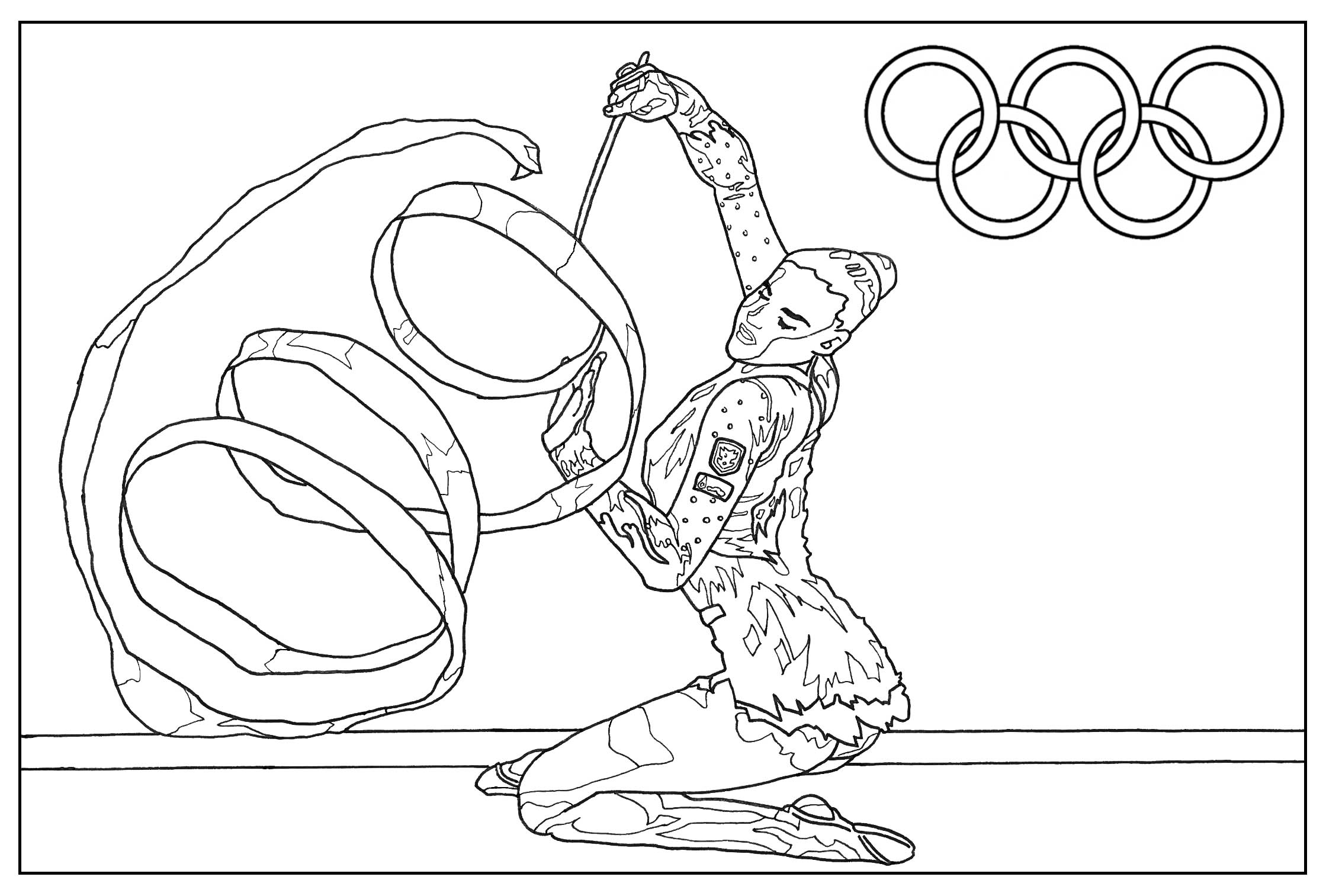 Olympic Sports Coloring Pages At Getcolorings