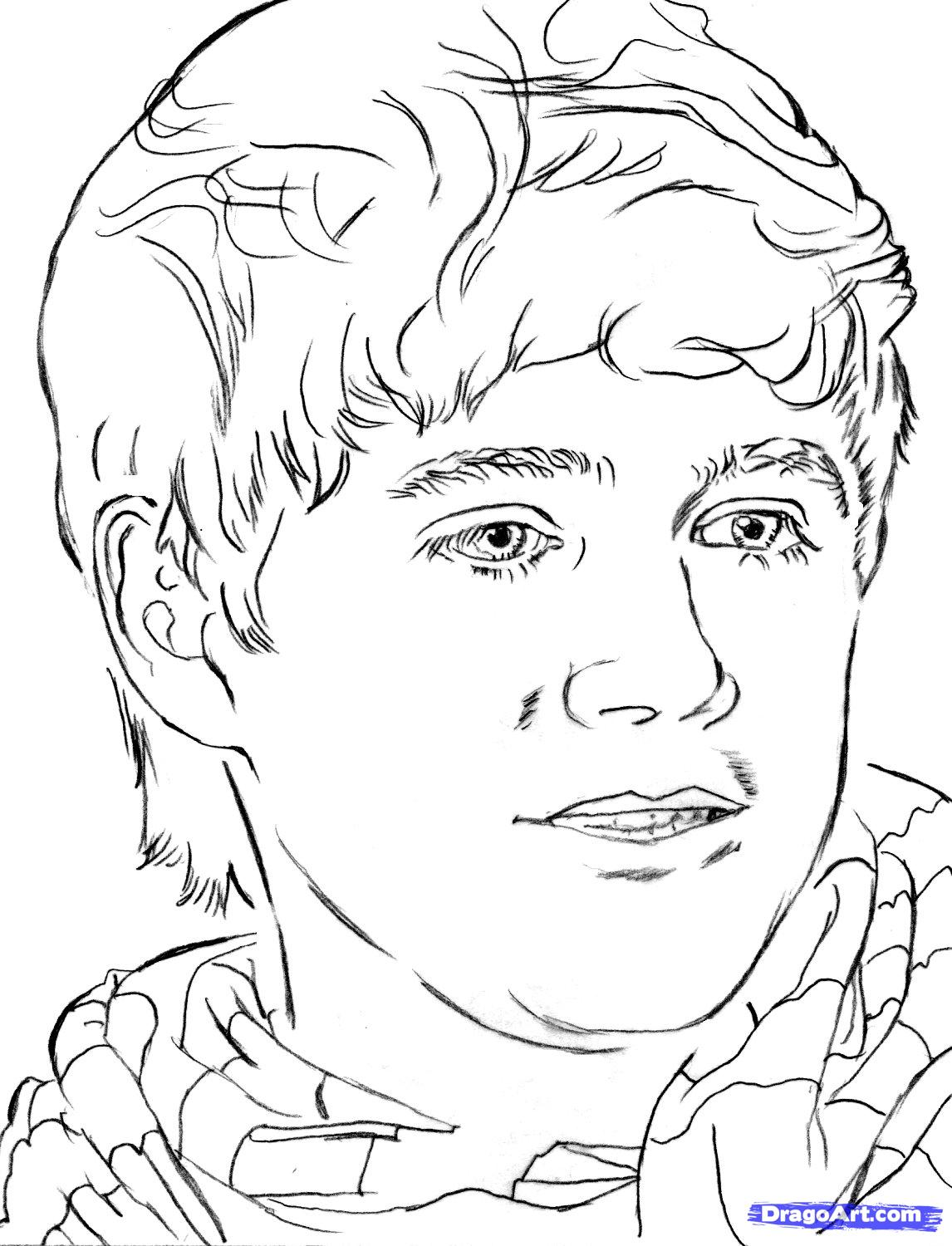 One Direction Printable Coloring Pages at GetColorings.com