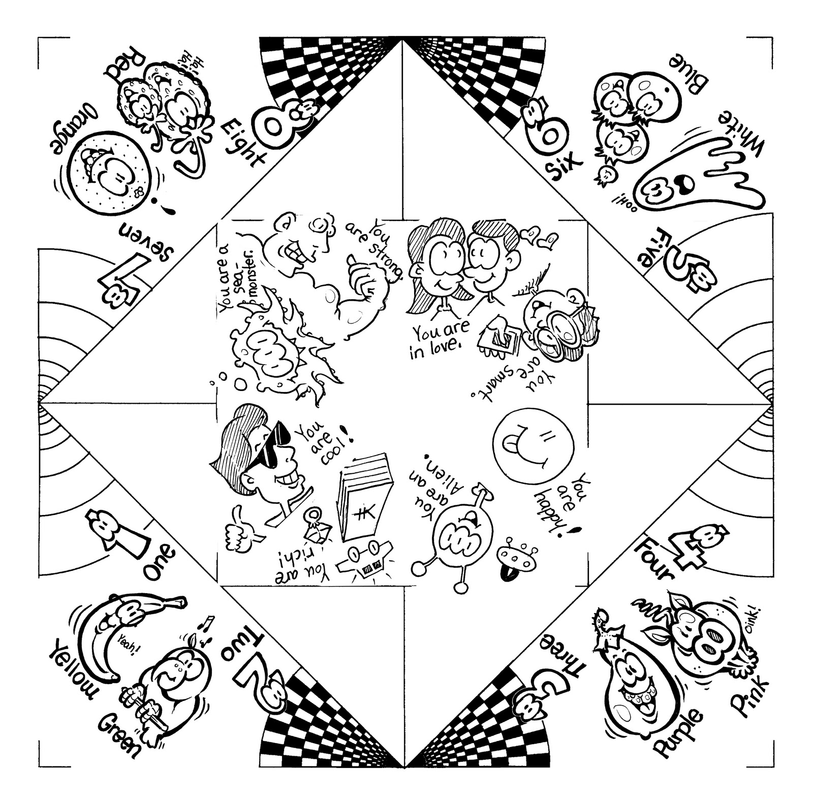 Origami Coloring Pages At Getcolorings