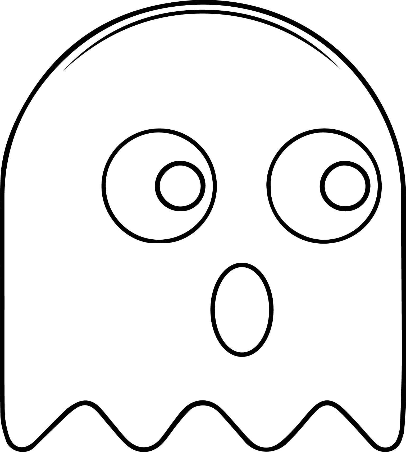 Pacman Coloring Pages At Getcolorings