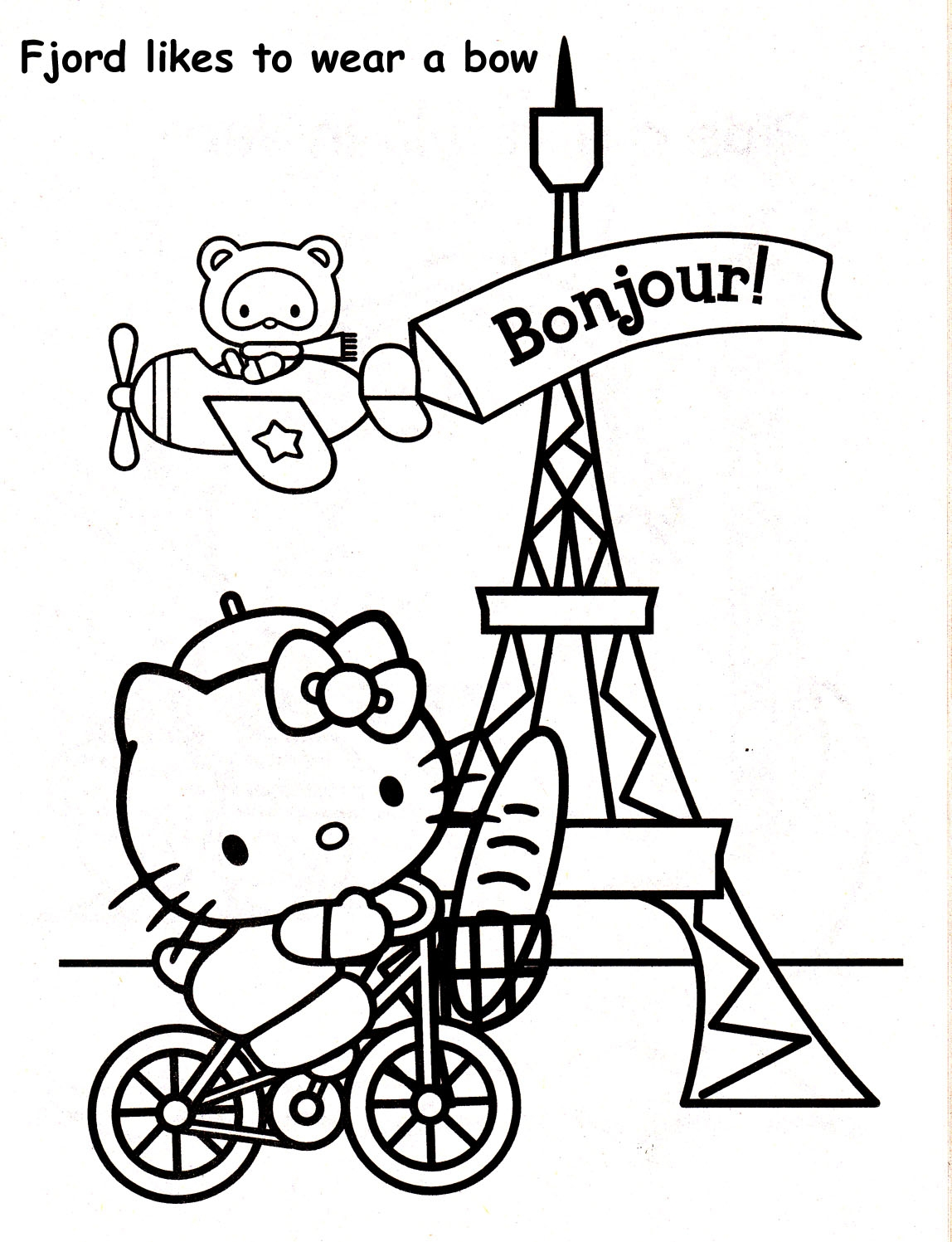 Paris France Coloring Pages At Getcolorings