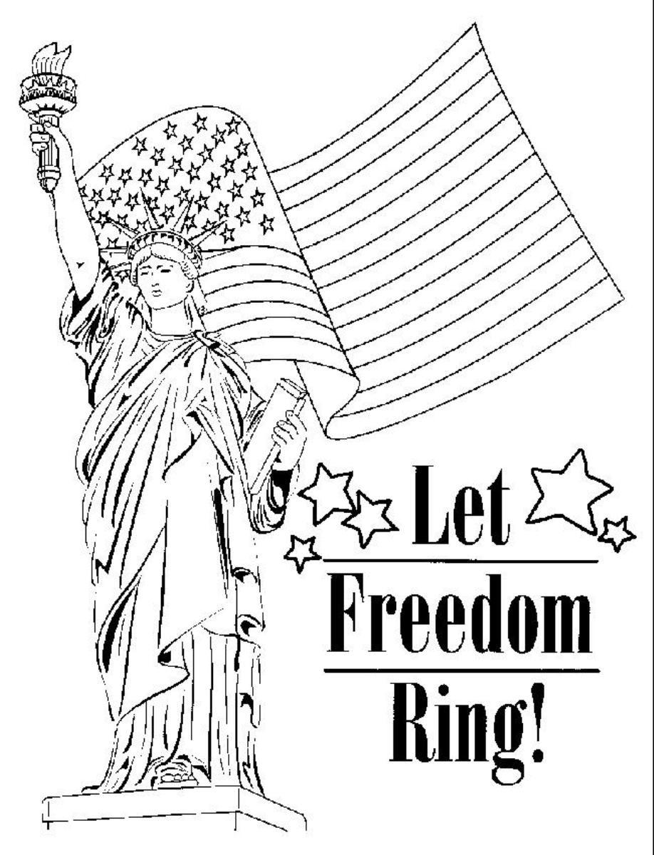 Patriotic Symbols Coloring Pages at GetColorings.com