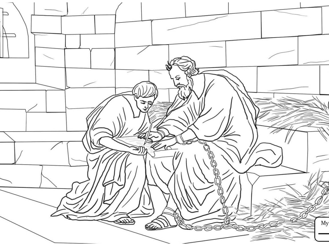Paul And Silas Coloring Pages Print at GetColorings.com
